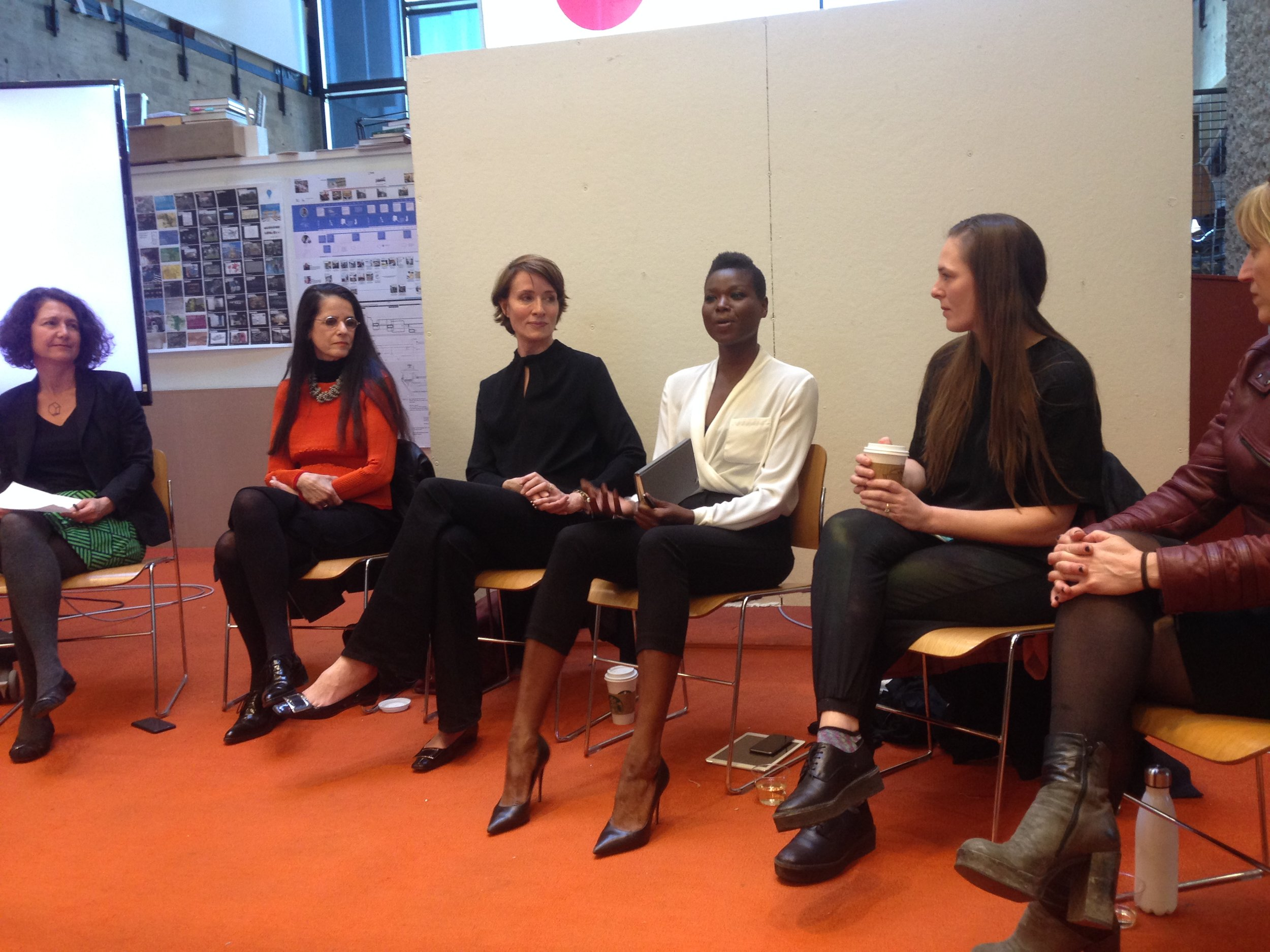 Amina on a Yale Women in Architecture Panel, Yale School of Architecture