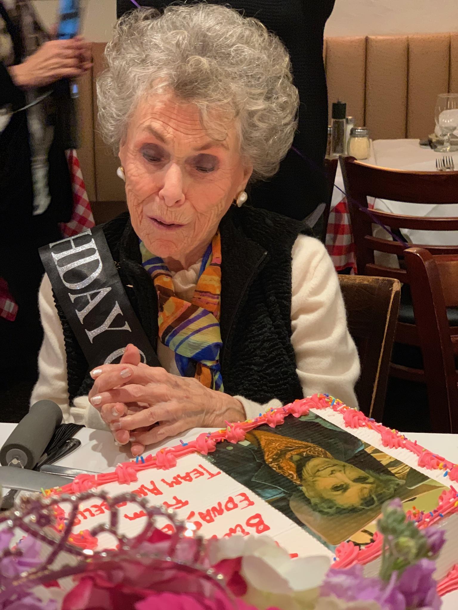 Nana Edna's 96th birthday