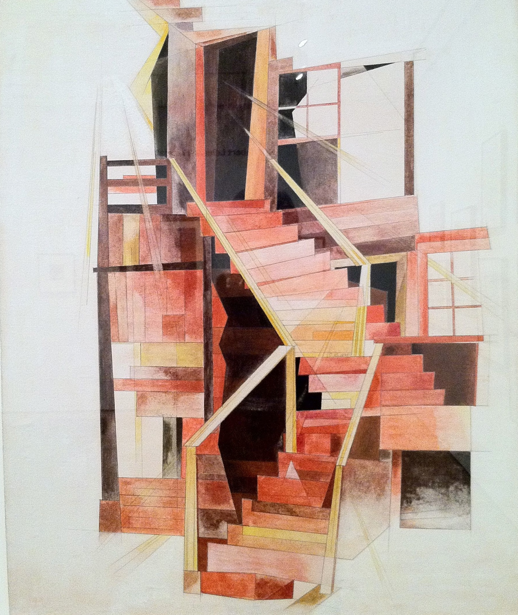 Charles Demuth, Stairs, Provincetown, 1920