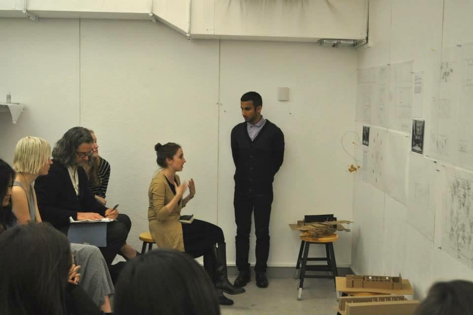 Irina teaching at Barnard + Columbia Architecture