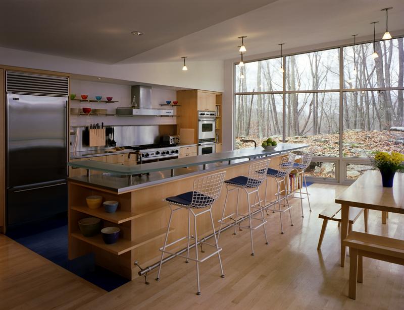 Waccabuc House Addition, Waccabuc, NY, 2003, Interior. By Deamer+Phillips.