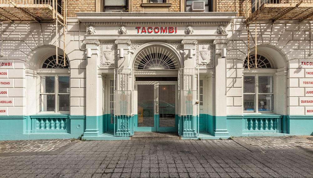 Tacombi restaurant renovation by NDNY in Brooklyn, NY