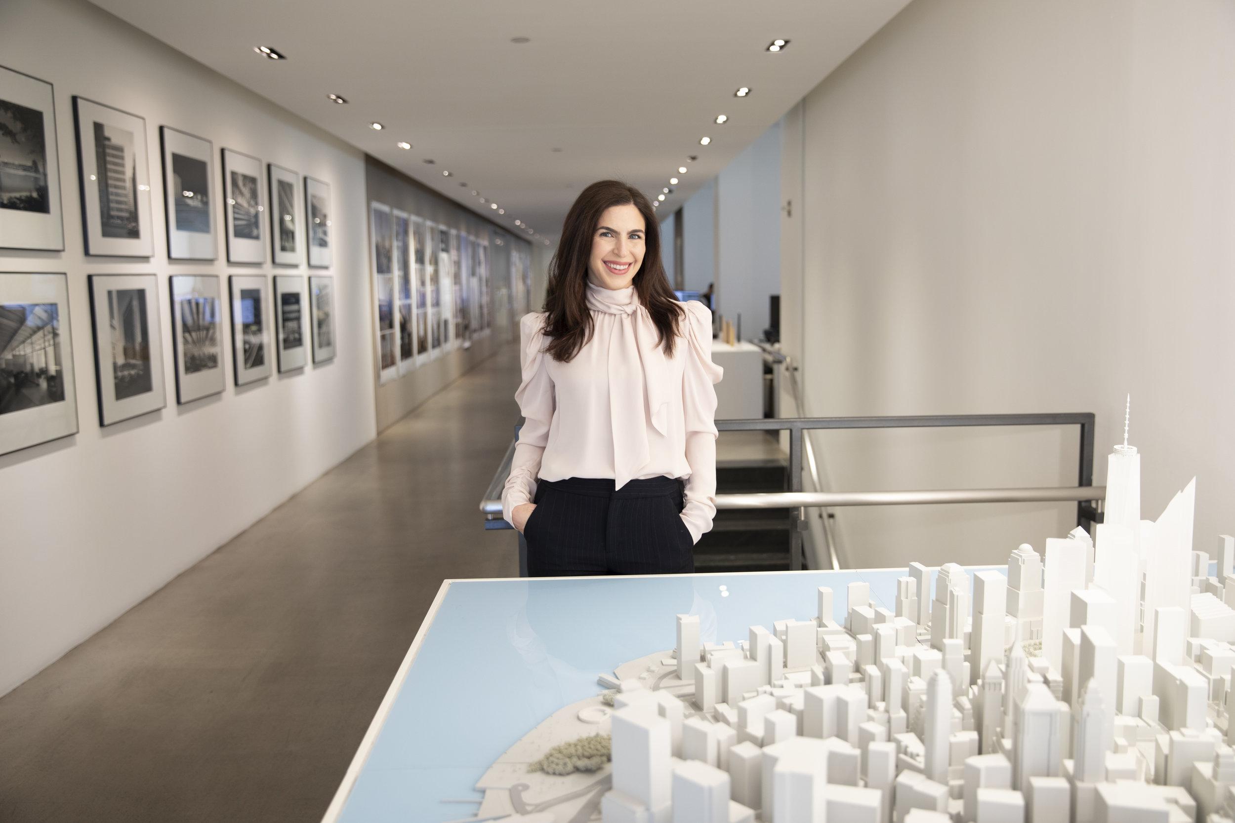 Sarah at SOM New York