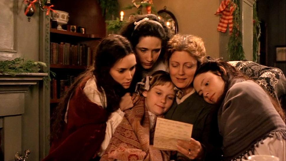 Still from Little Women (still from 1994 film).