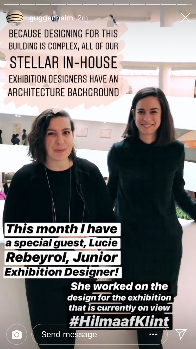 Ashley's monthly Instagram story architecture series