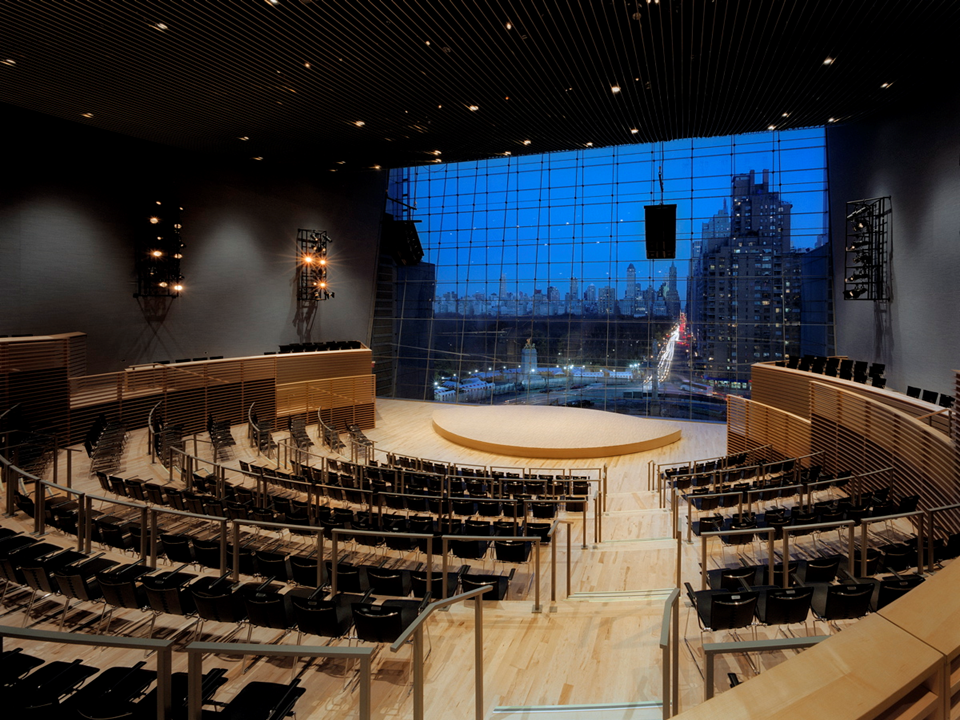 Jazz at Lincoln Center, courtesy of Rafael Viñoly Architects