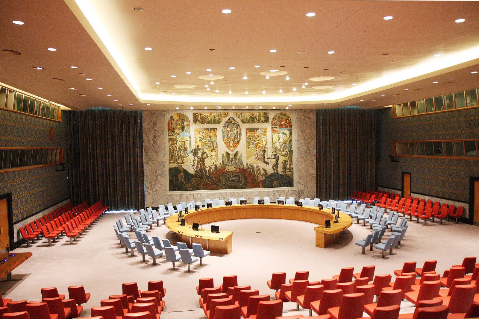 The United Nations, photo courtesy of Carisima Koenig.