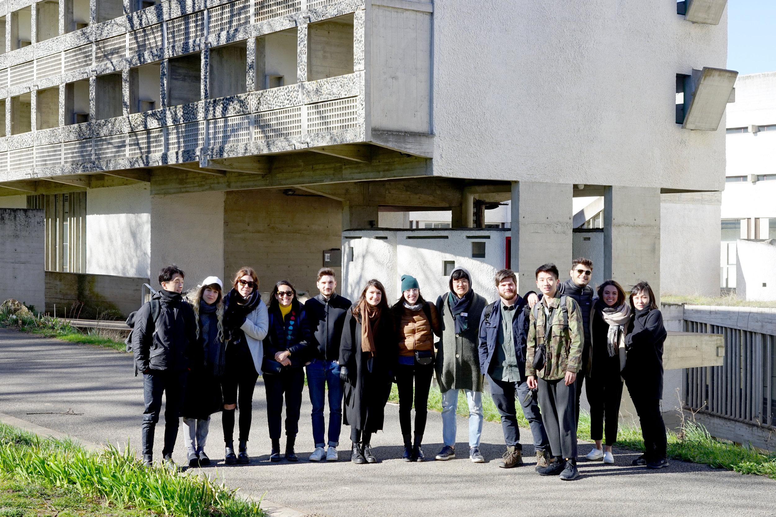 Linna's MIT Studio visiting La Tourette