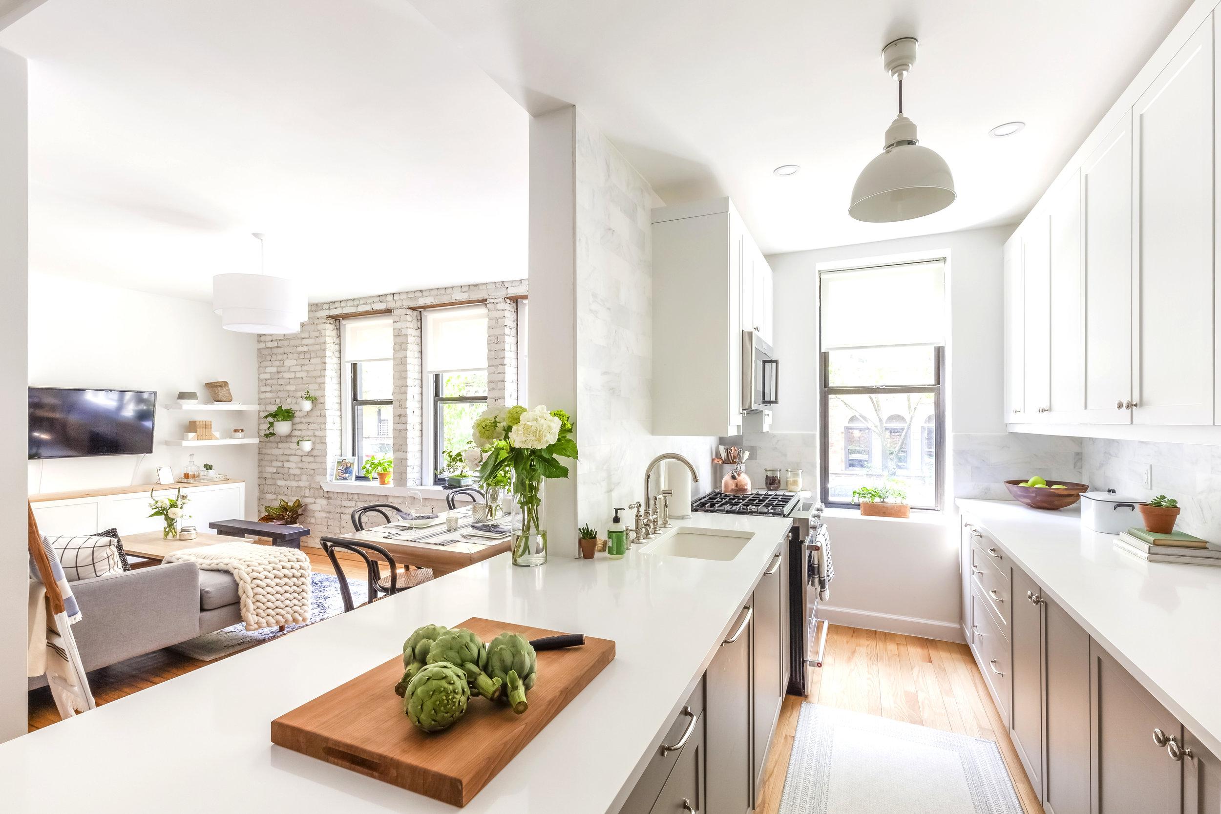 A kitchen renovation by Sweeten