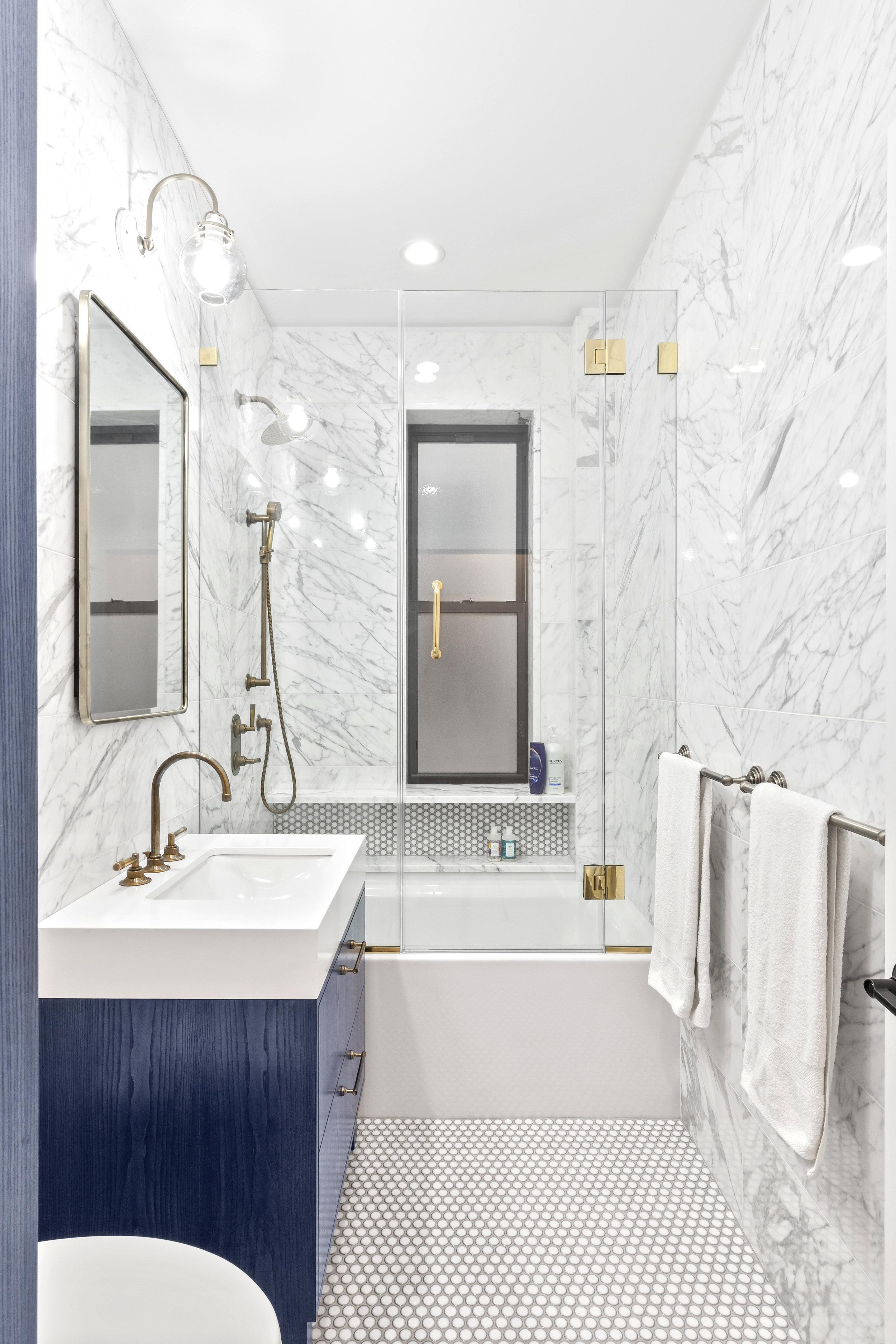 A bathroom by Sweeten.