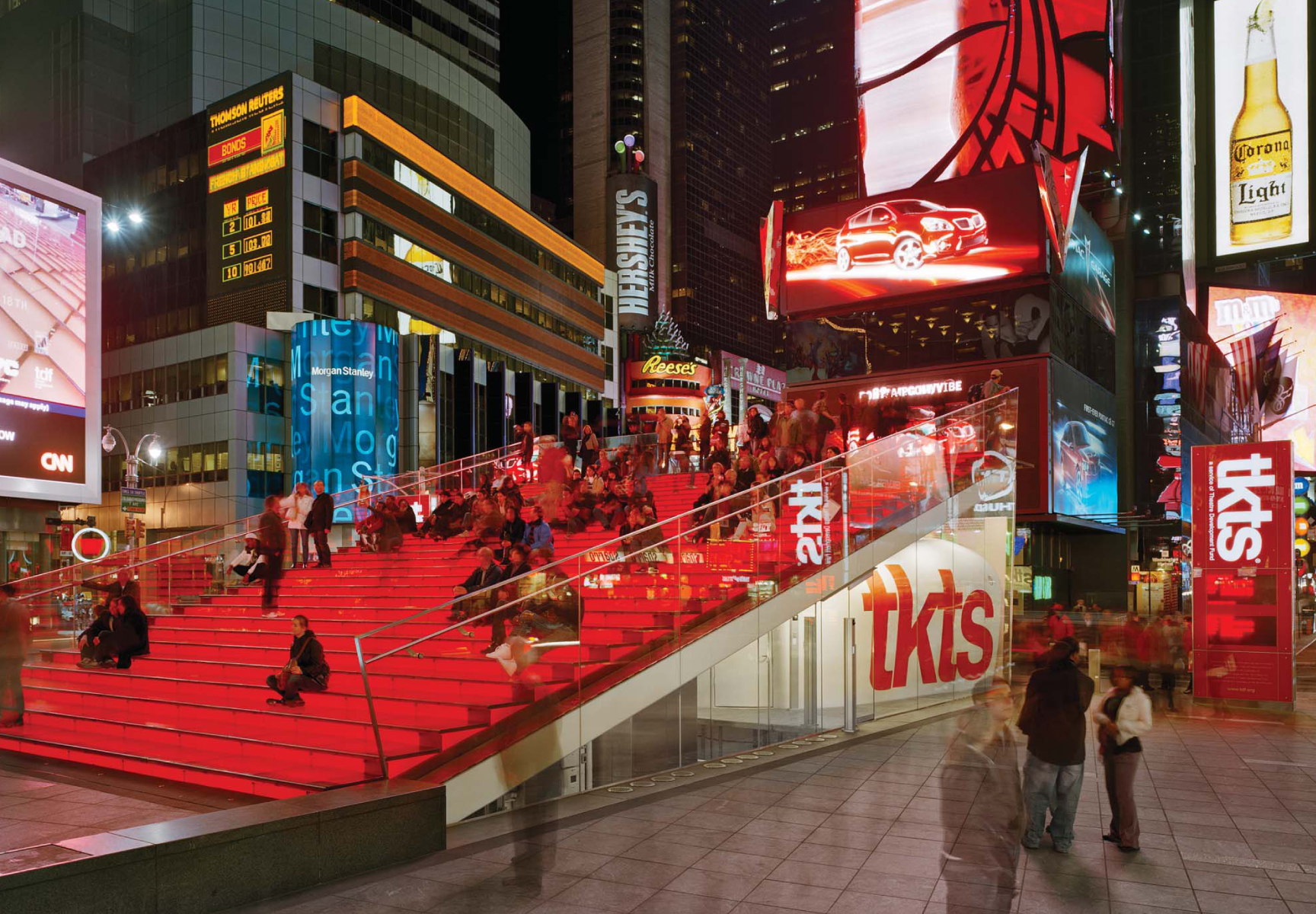TKTS Booth in Times Square, courtesy of Yazmín Crespo