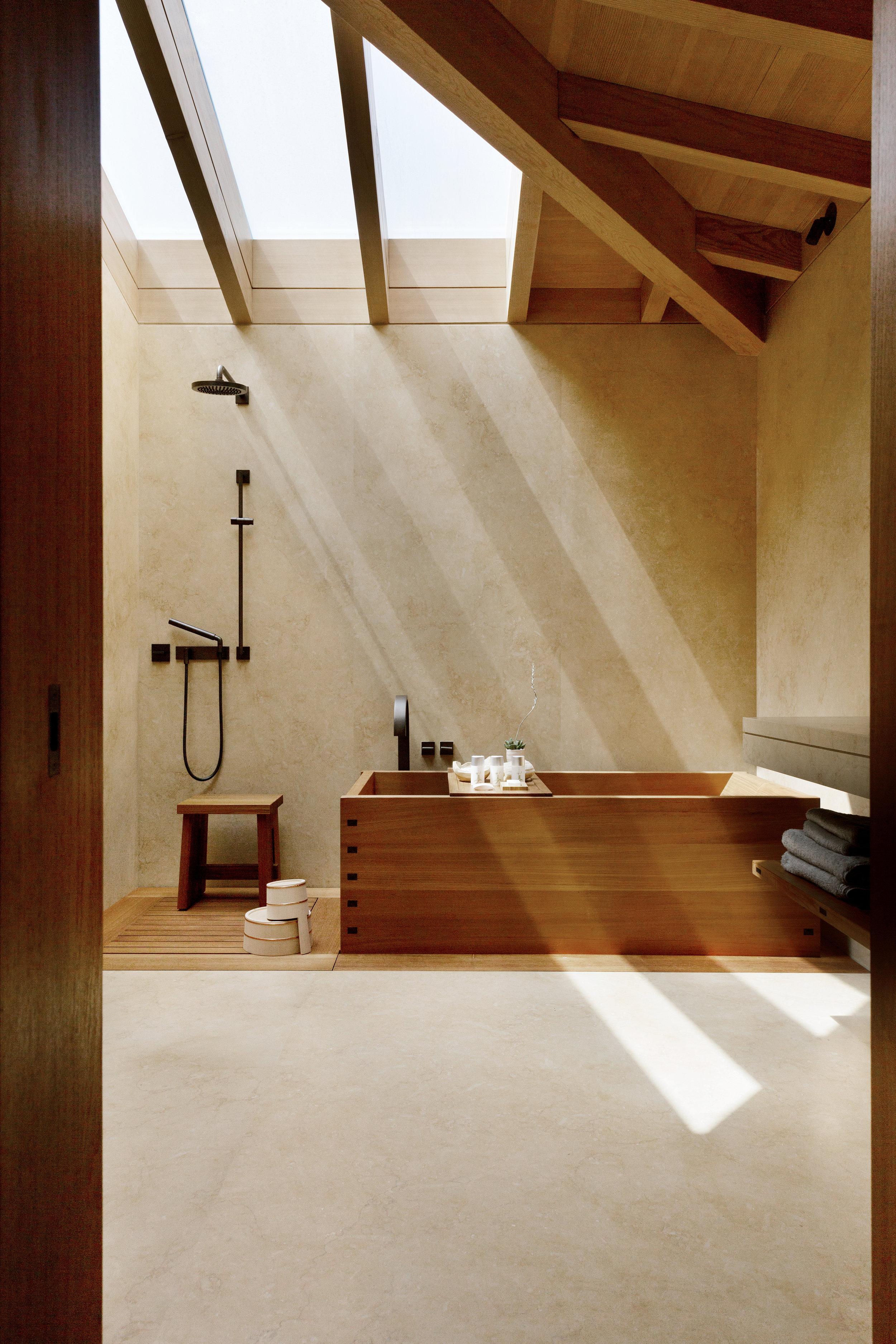 Bathroom at Nobu Ryokan, courtesy of Studio PCH