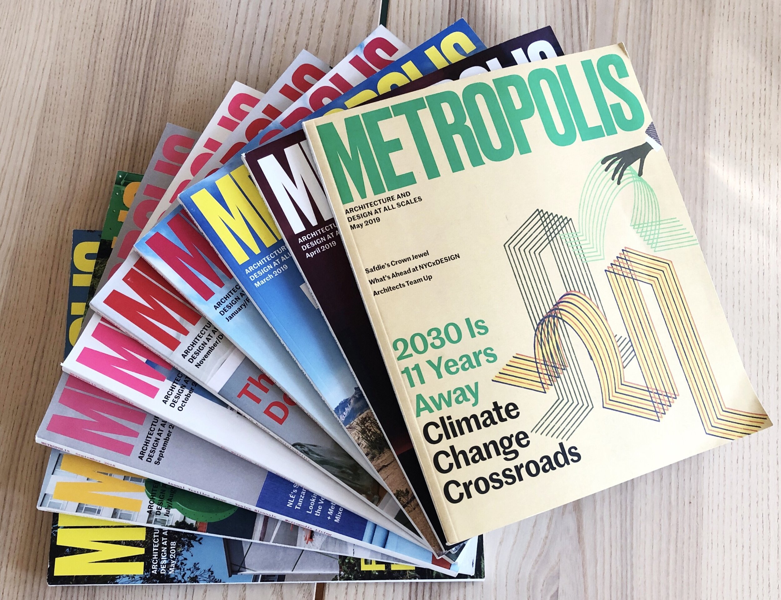 A selection of Metropolis issues.