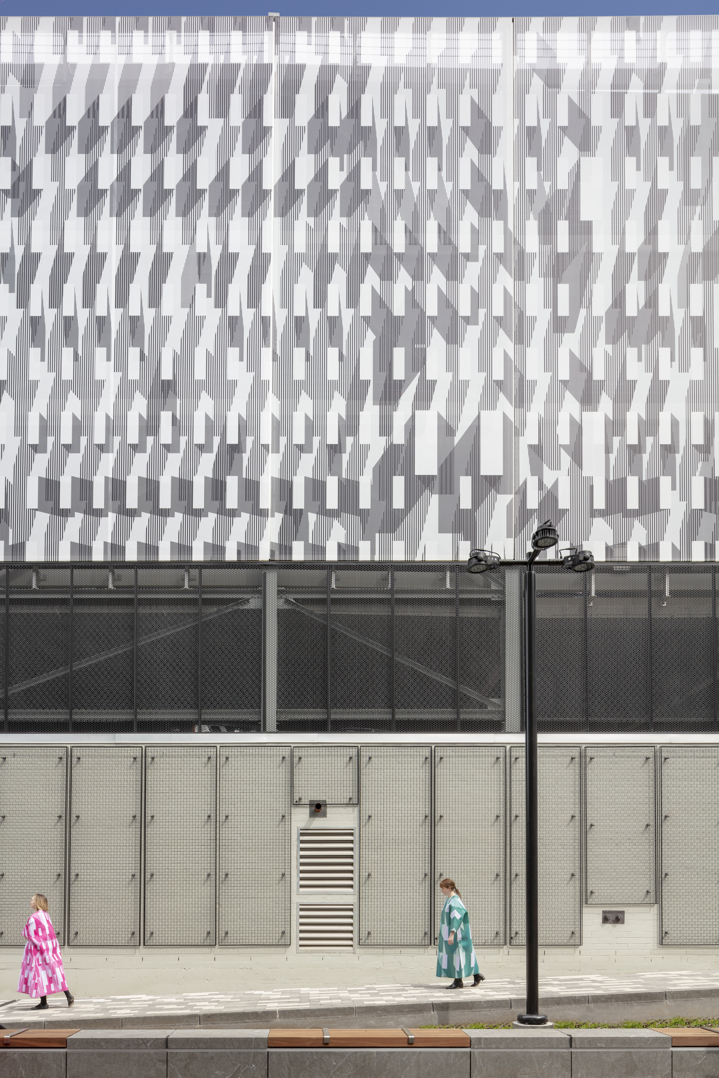 Kendall Garage by French 2D. Photography by John Horner.