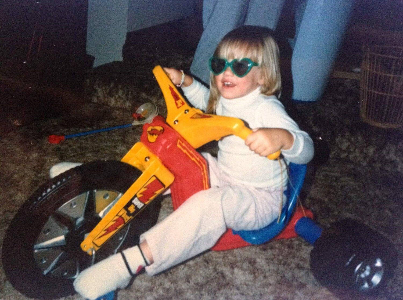 Young Melissa, image courtesy of Melissa Hanley