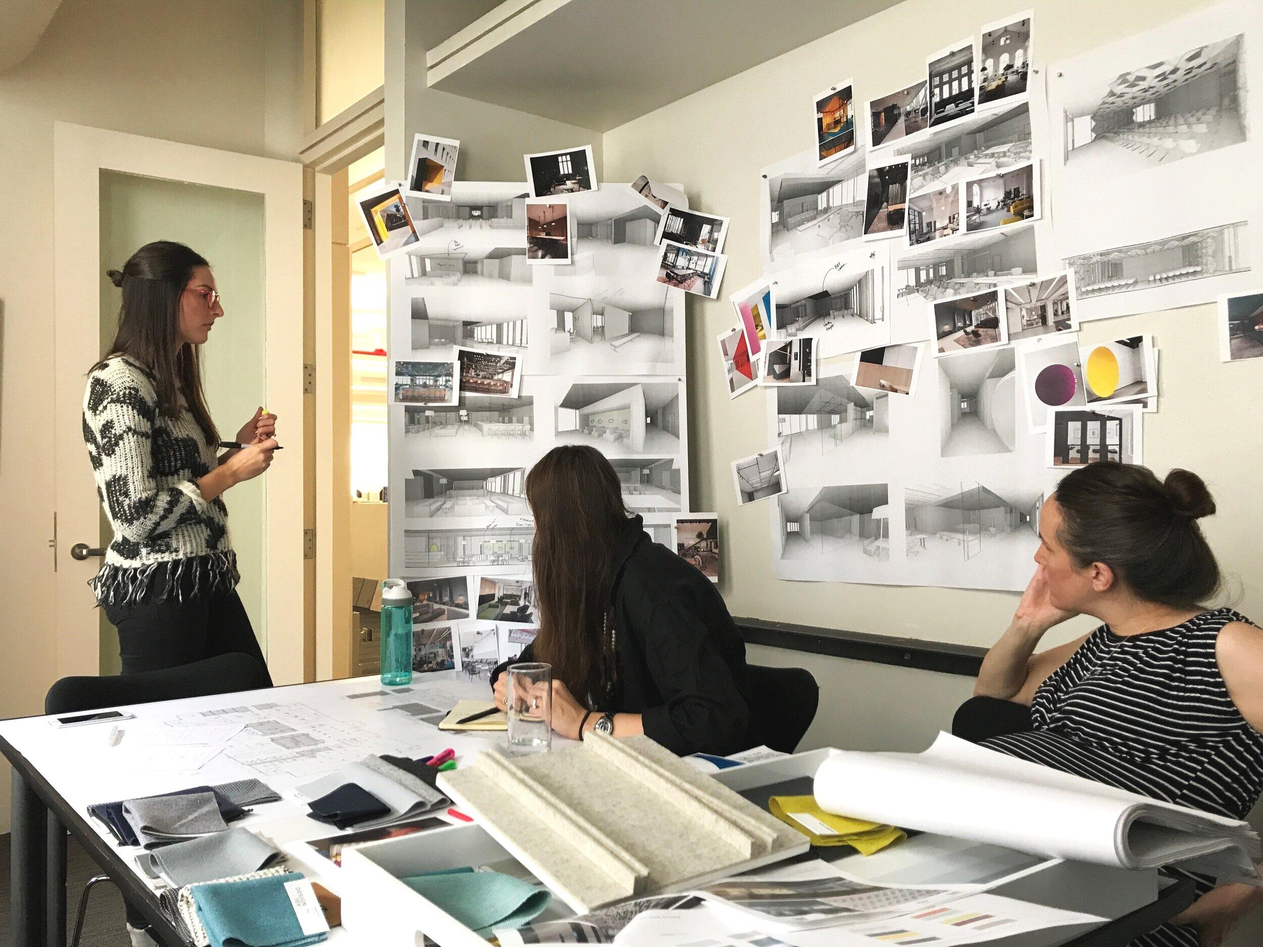 Team design session