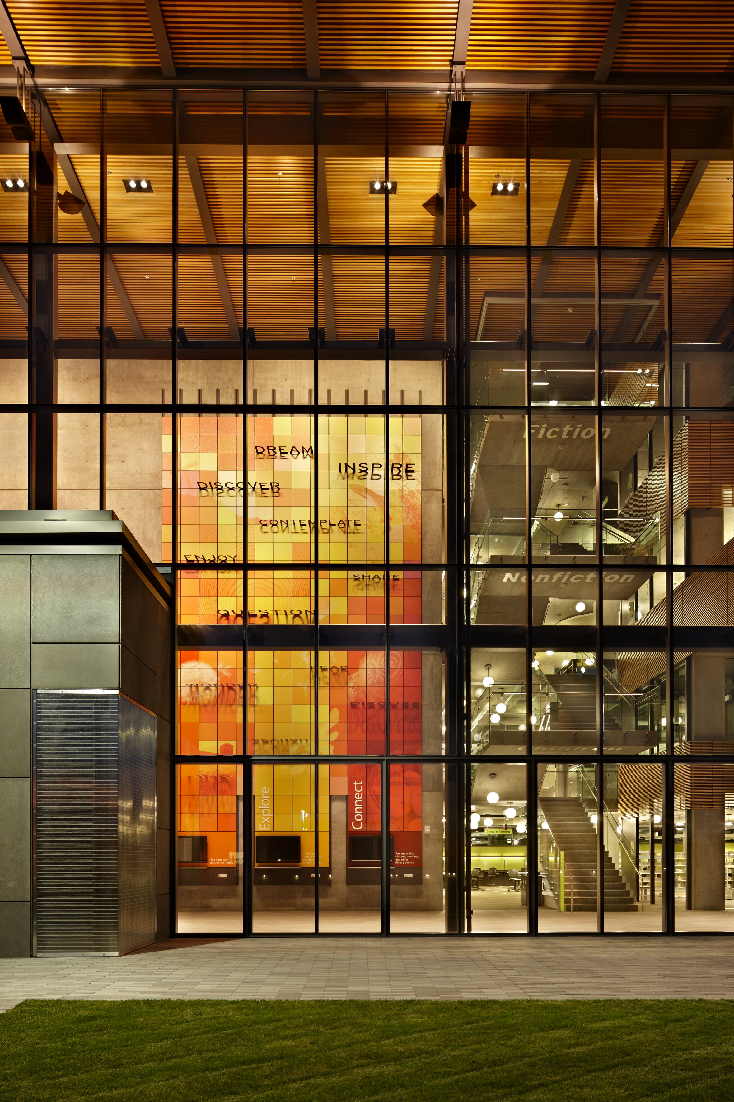 Vancouver Community Library, photography by Ben Benschneider.