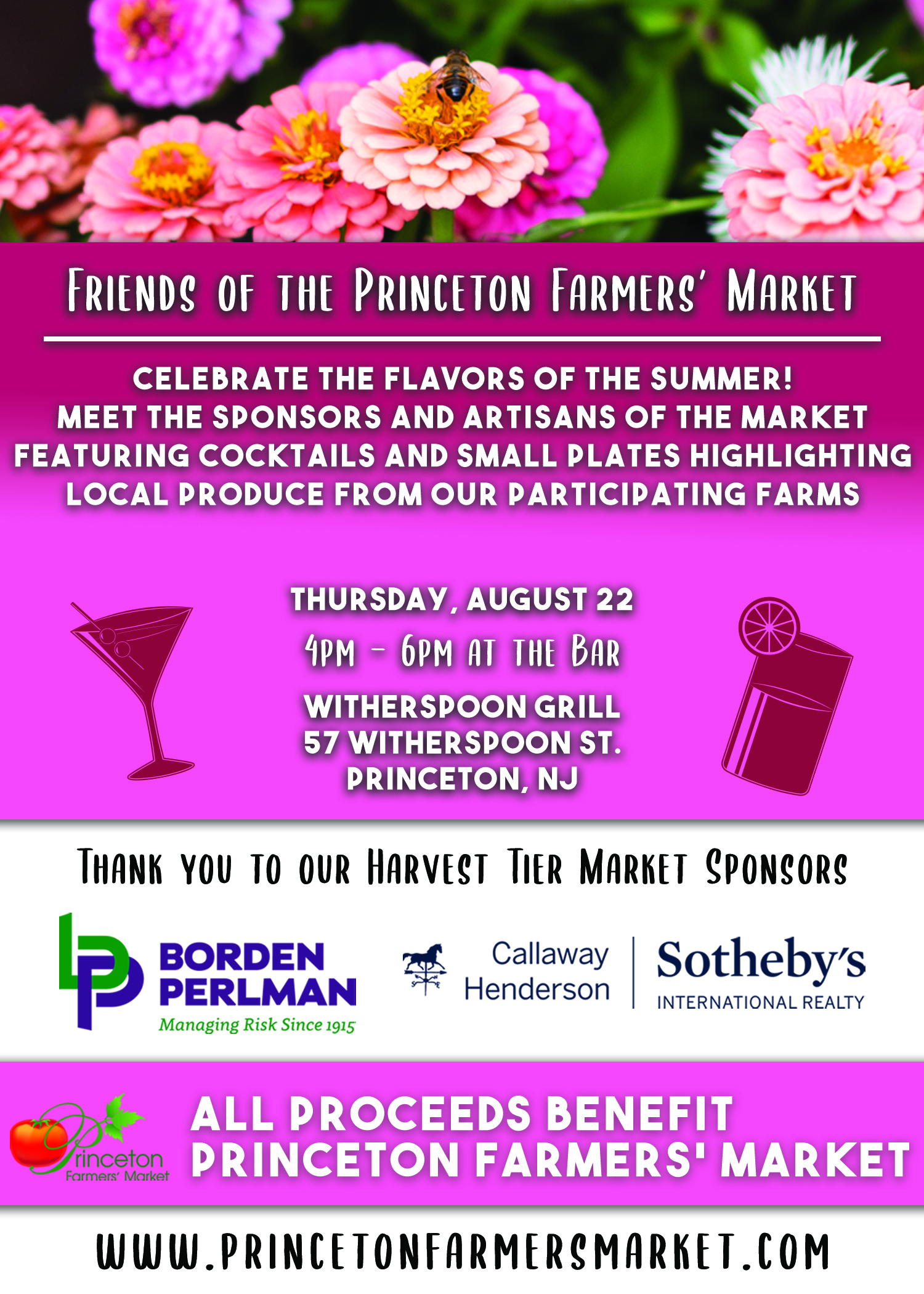 Friends of the Princeton Farmers' Market - August 22
