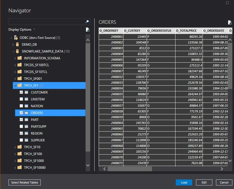 FreshBI | Games | Snowflake in Conjunction With Tabular Models: