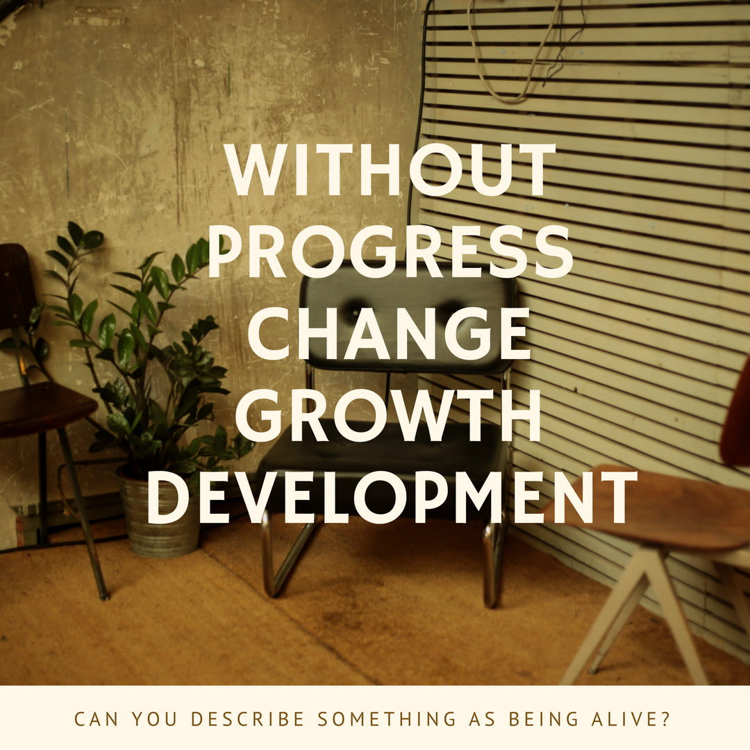Without progress
