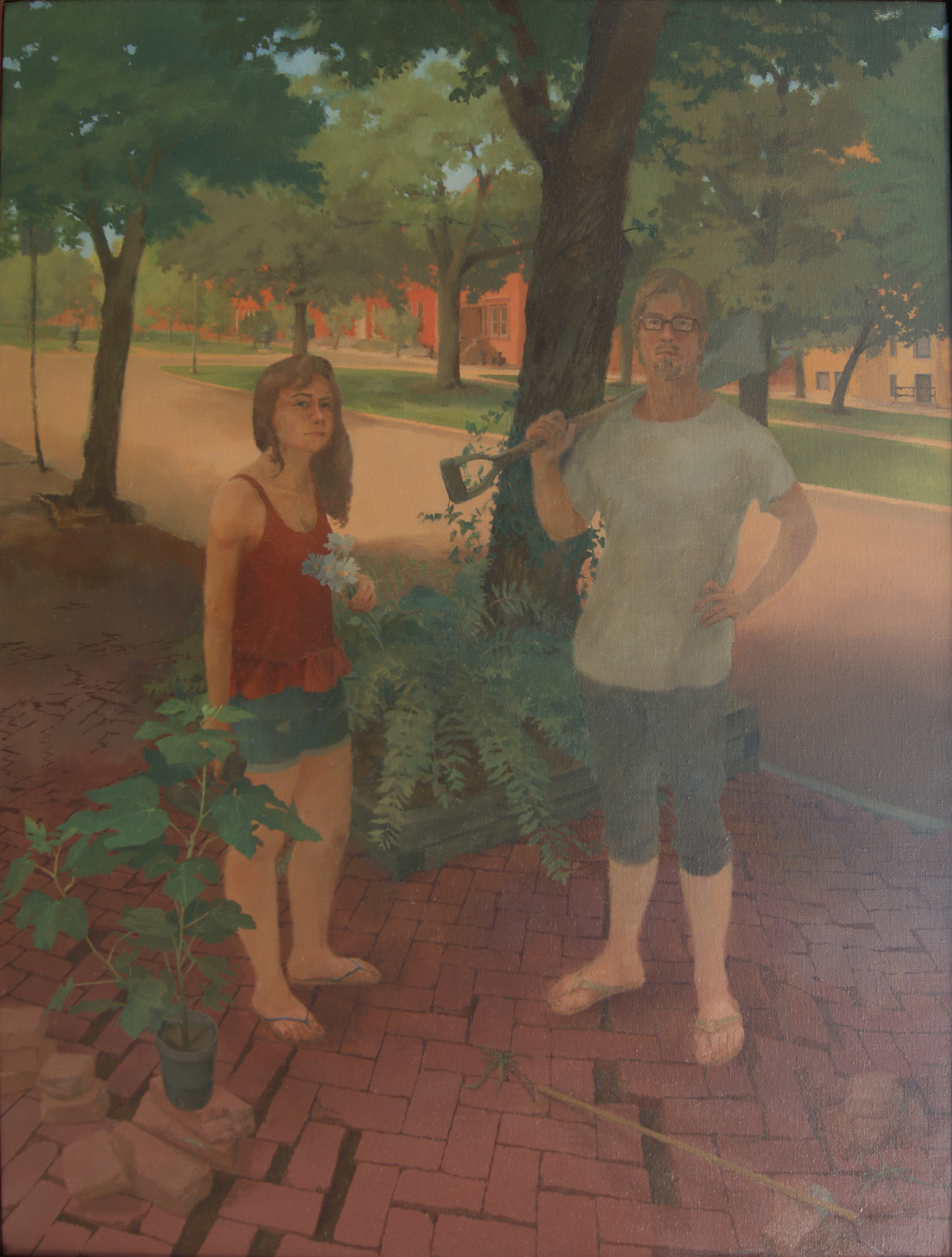 The Garden, Oil on Linen, .32%22x24%22JPG.JPG