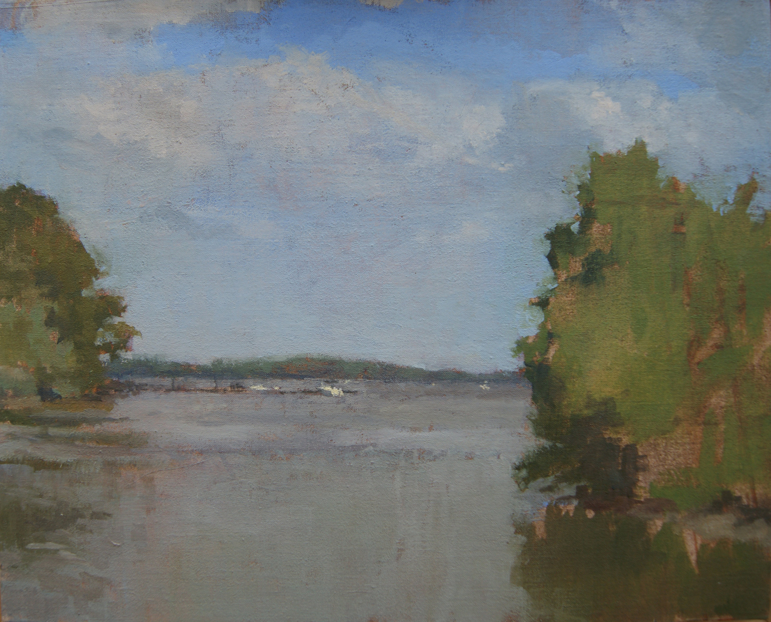 The Back River, Oil on Muslin on Panel, 8%22x10%22.JPG