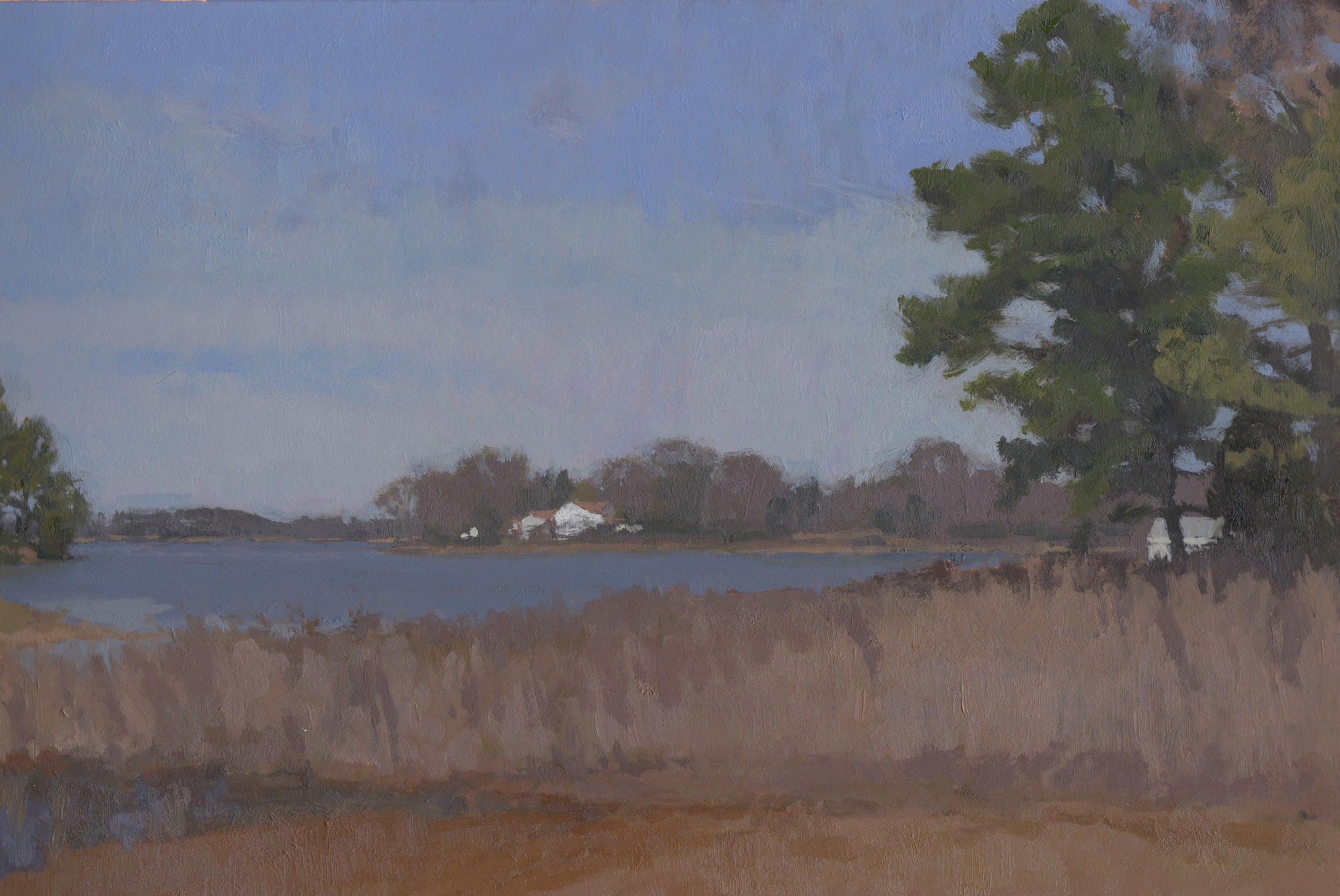 Low Tide, Oil on Paper, 8%22x11.75%22 copy.jpg