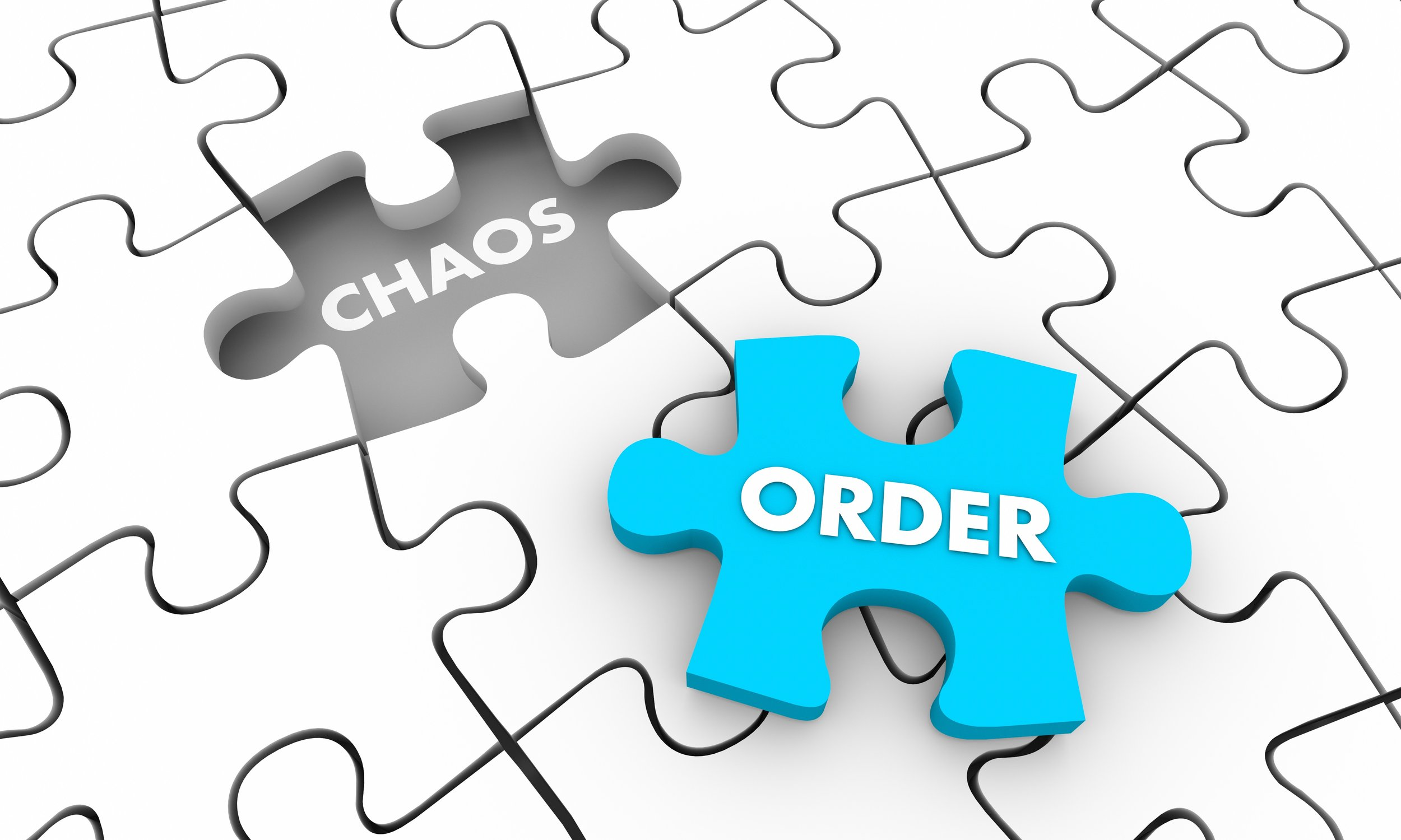 Chaos and Order are two sides of a coin. If you experience chaos, you can flip that coin to find order.  Photo courtesy: Shutterstock