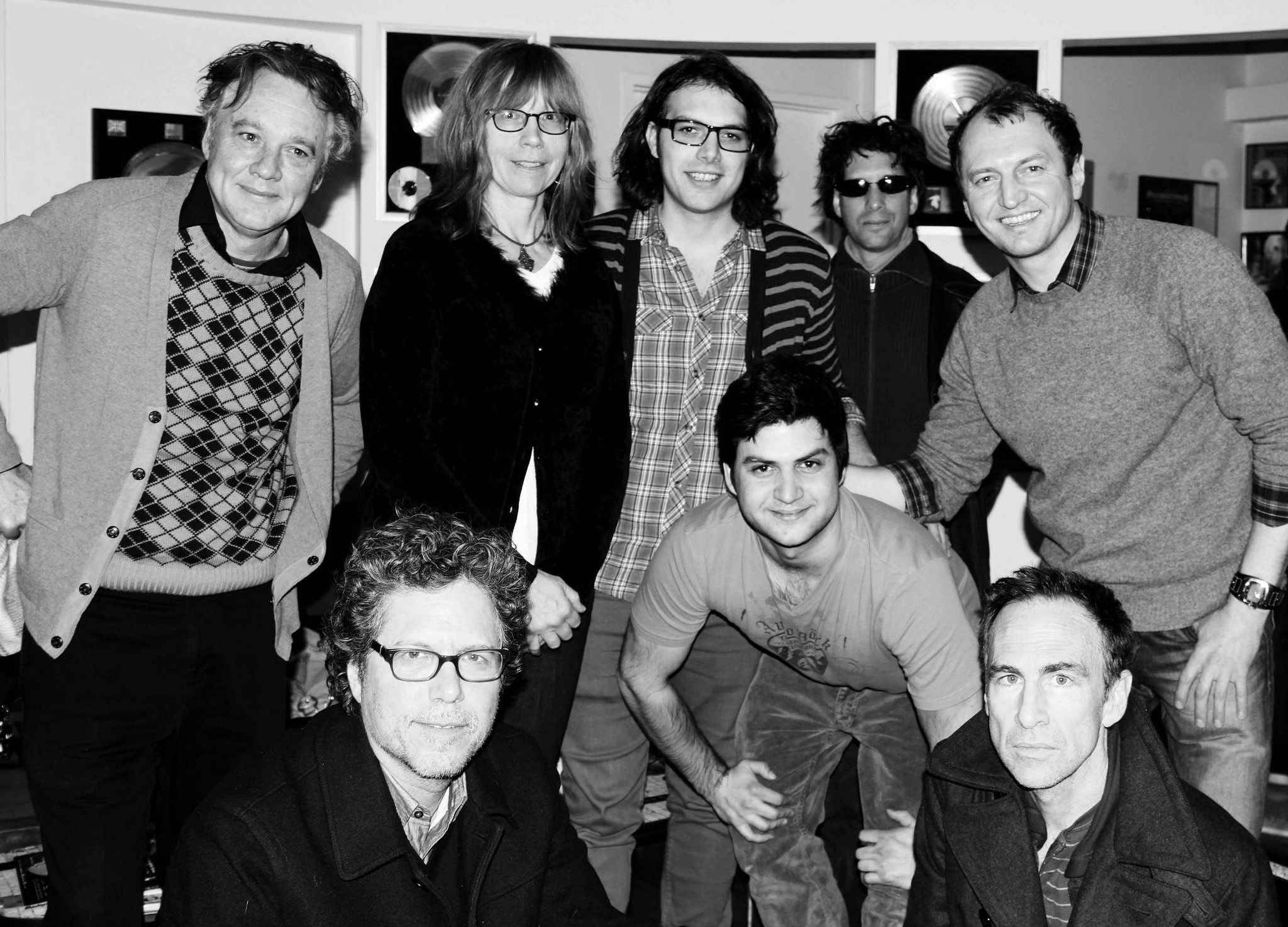 Video shoot with  The Jayhawks , Cutting Room studios, NYC
