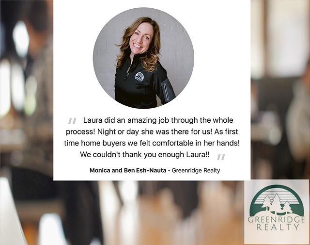 Couldn't be more thankful for these kind words. I love my job and the relationships I have the chance to make with my clients! 🏡💚 ⁣ ⁣⁣ #greenridgerealty #firsttimehomebuyers #buyersagent #springlakerealtor #therealdeal