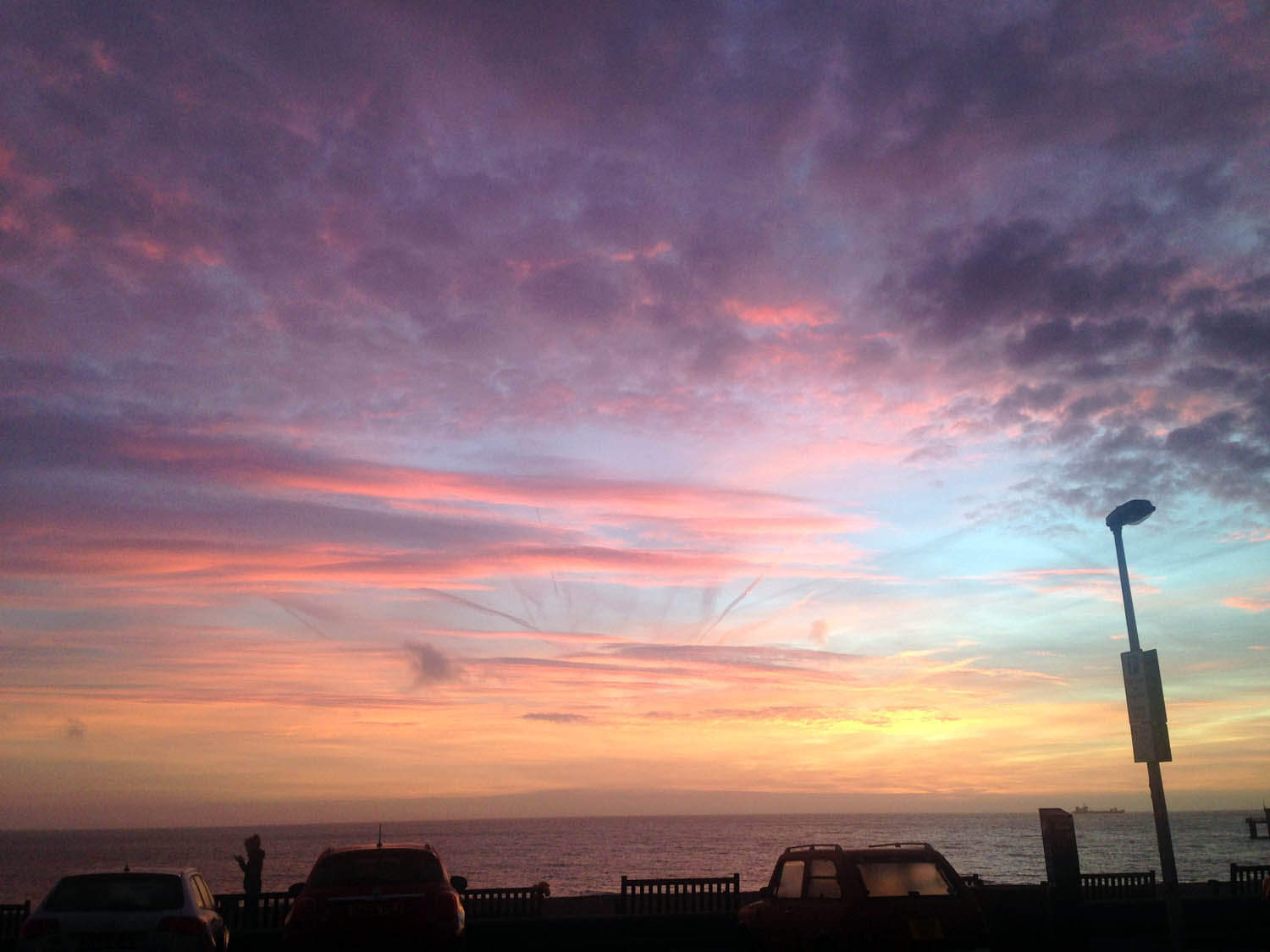 Up early for our website photoshoot with photographer, Petra. What a beautiful sunrise!