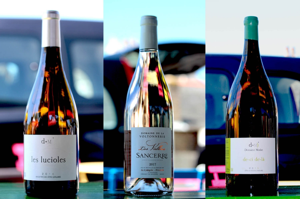 Find Authentique Wines in Deal Saturday market