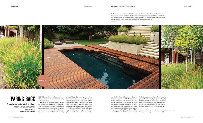 Ambelside - Vancouver Home Magazine 2015 -