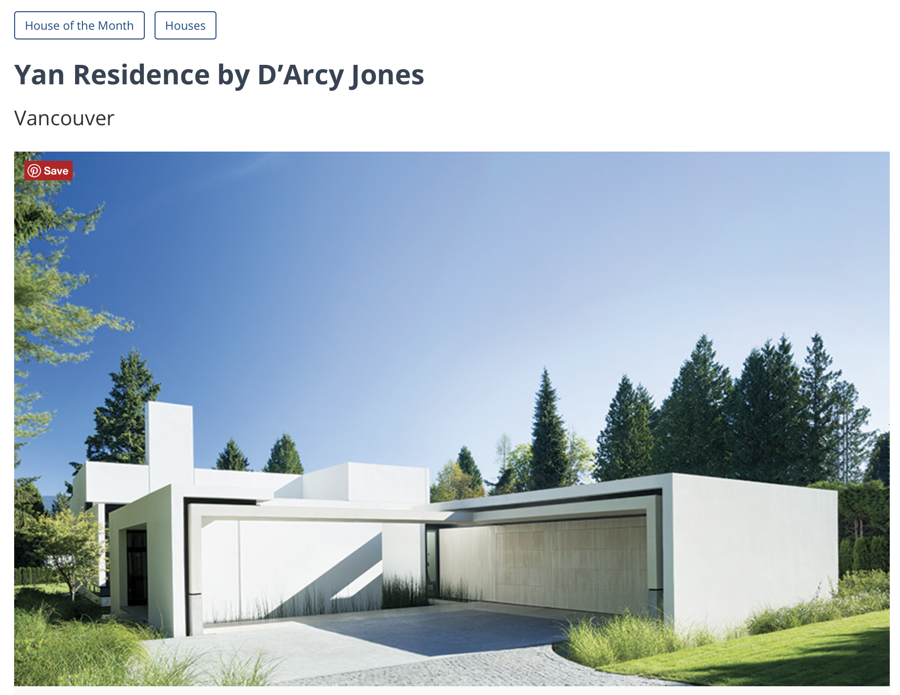 West Point Grey - Architectural Record 2017 -