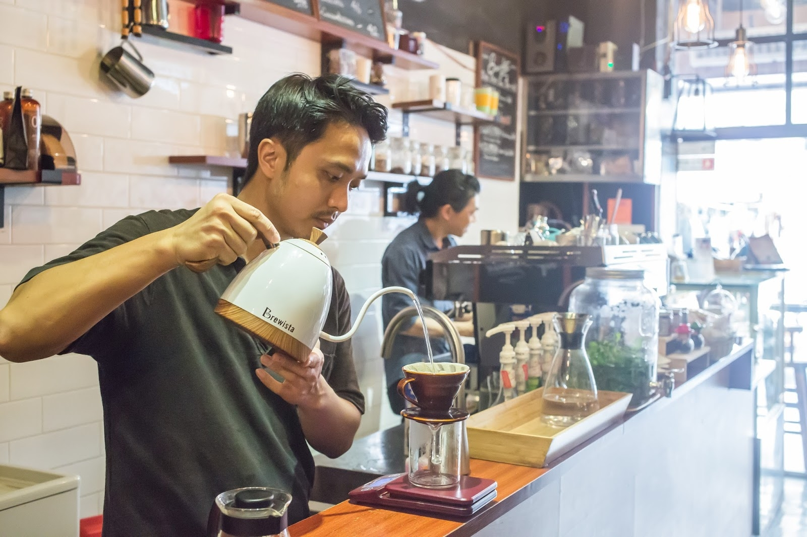 The Pour-Over - Trends in techniques vary by where the beans are from... ask a barista how they like theirs done!