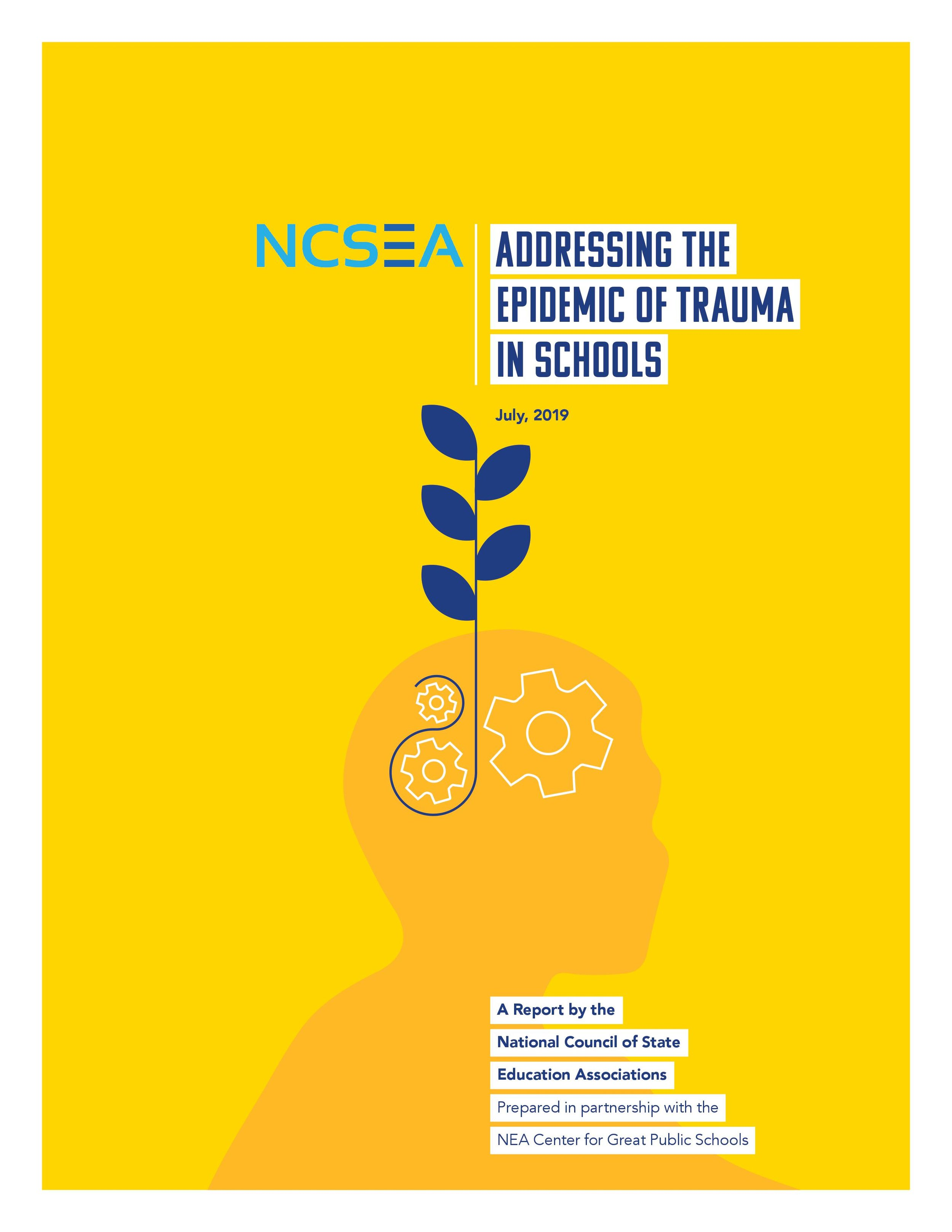 We are proud of this work with the NEA to organize trauma response for students across the country.