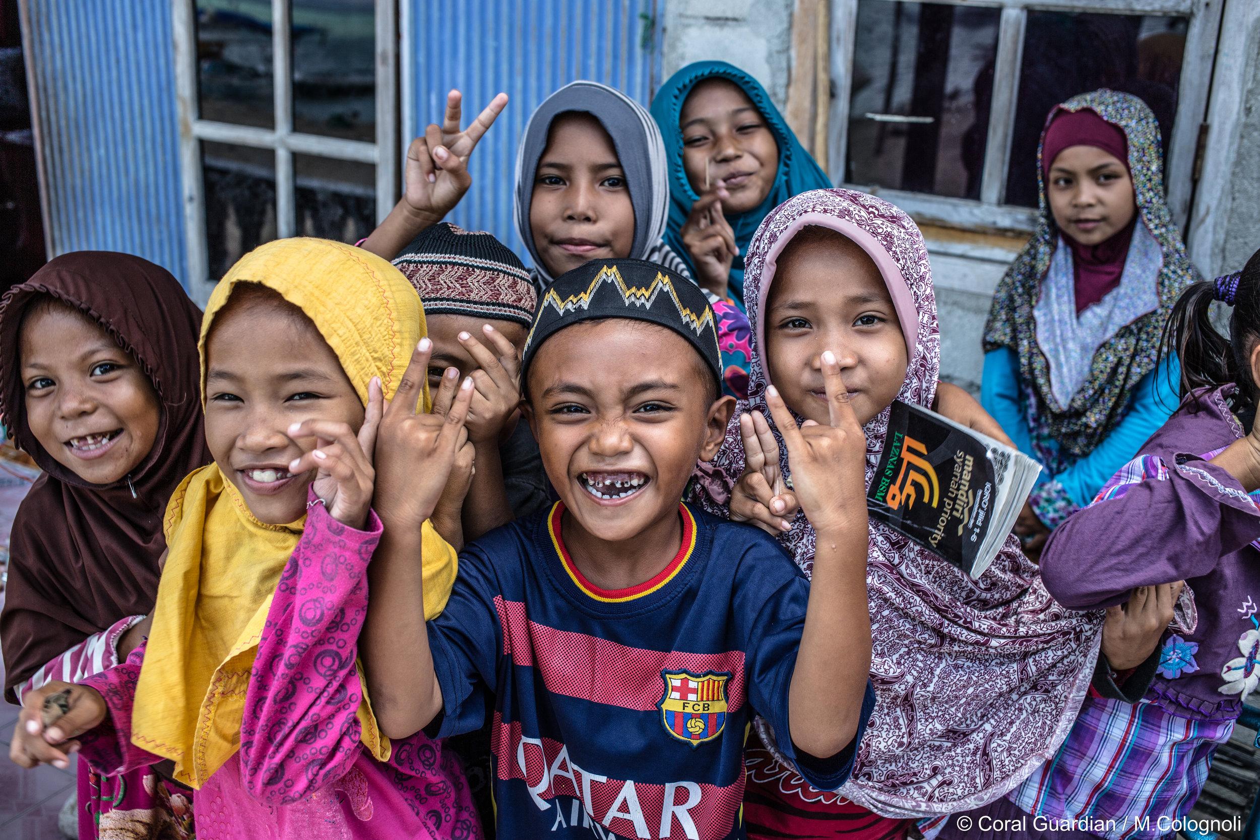 18 - Children of the reef, the future of Seraya-besar CREDIT: MArtin COLOGNOLI