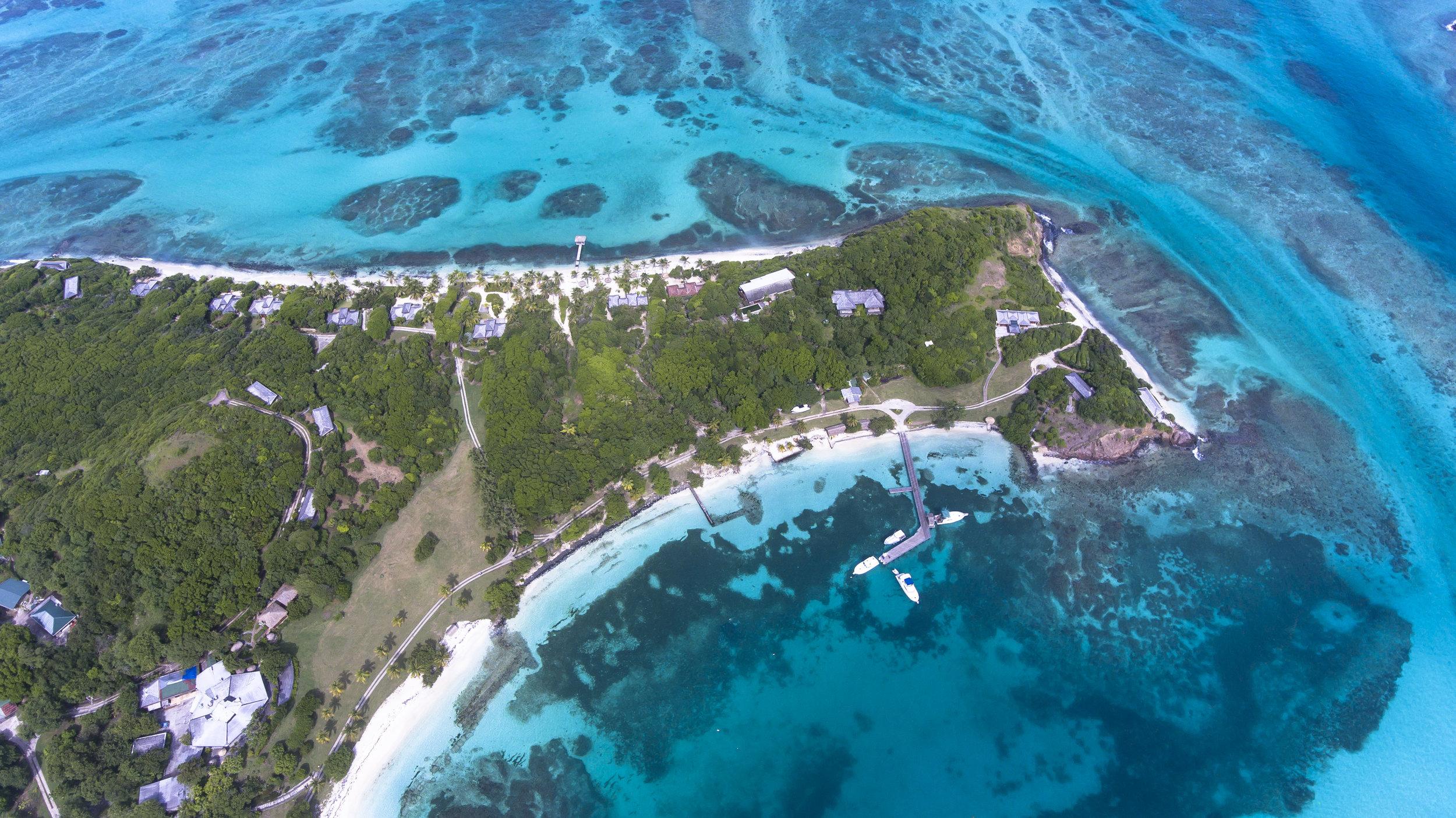 Petite St. Vincent, Grenadines credit: hugh whyte / coral reef image bank