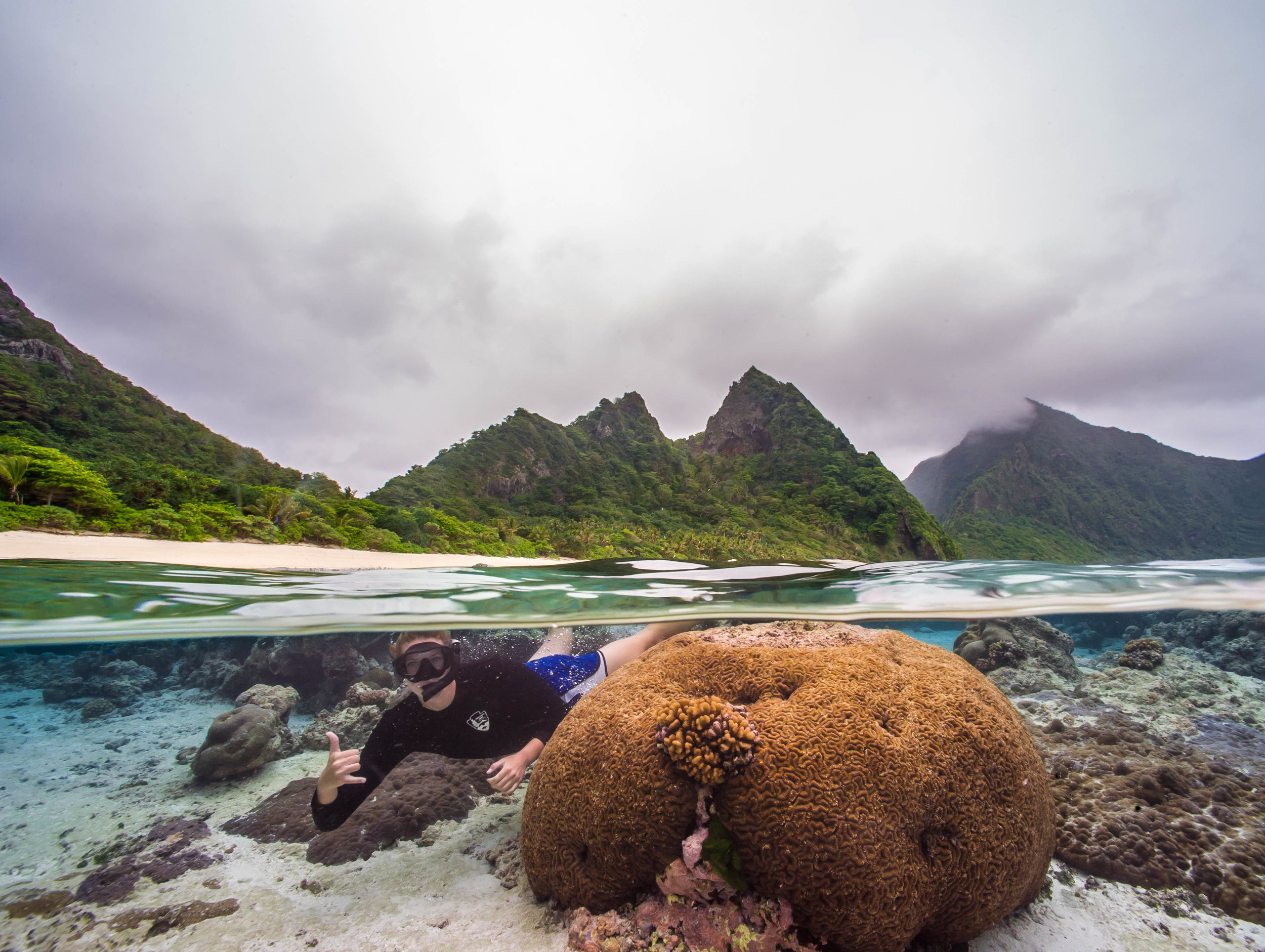 National Park of American Samoa Credit: Shaun wolfe / coral reef image bank