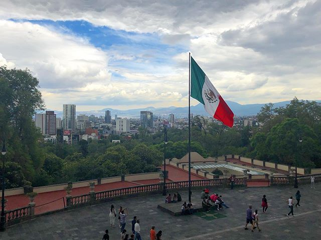 Big thanks to mi familia Mexicana - Mexico City is breathtaking. ¡Salud!