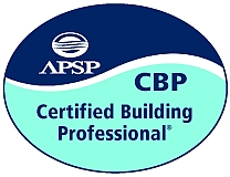 Association of Pool & Spa Professionals Certified Building Professional Badge