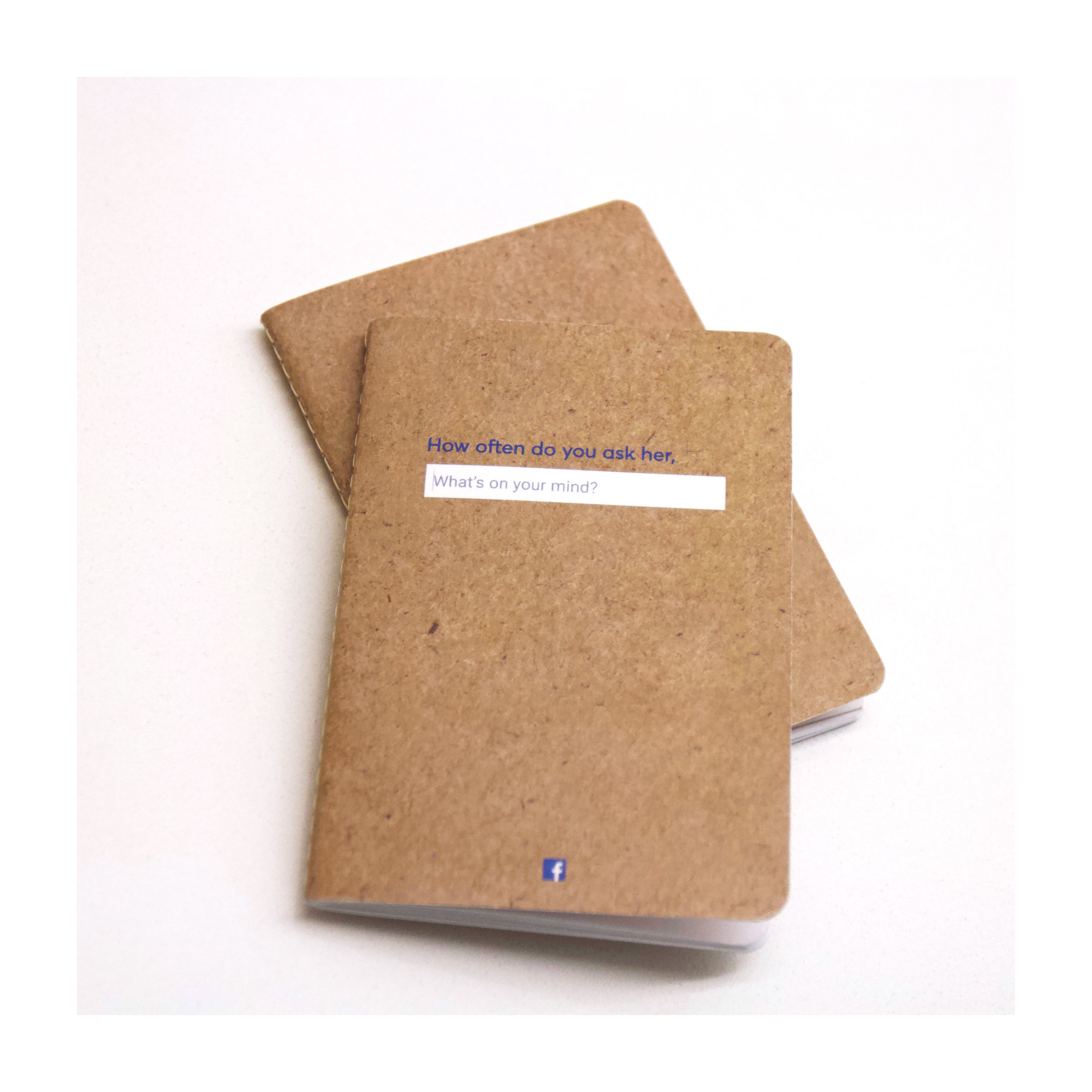 We also created Field Notes with our ad printed on the covers that were given out at the conference.