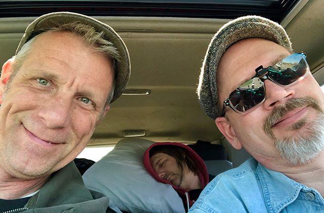 The Hackwells road trip....Merlefest 2018 #merlefest #johndobat #roadtrip