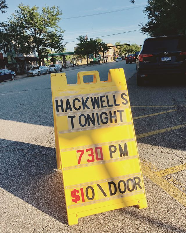 Great night....super turnout!' Thanks so much to everyone that made it out! #rootsmusic #altcountrymusic @thehackwells @johndobat