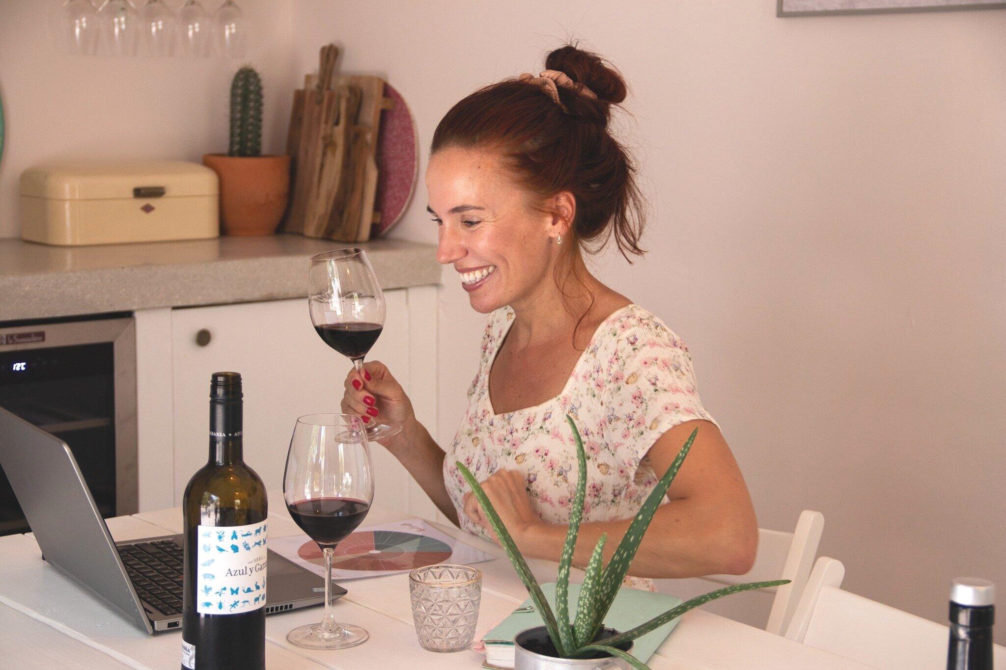 Online wine tastings — Blend and Bottled