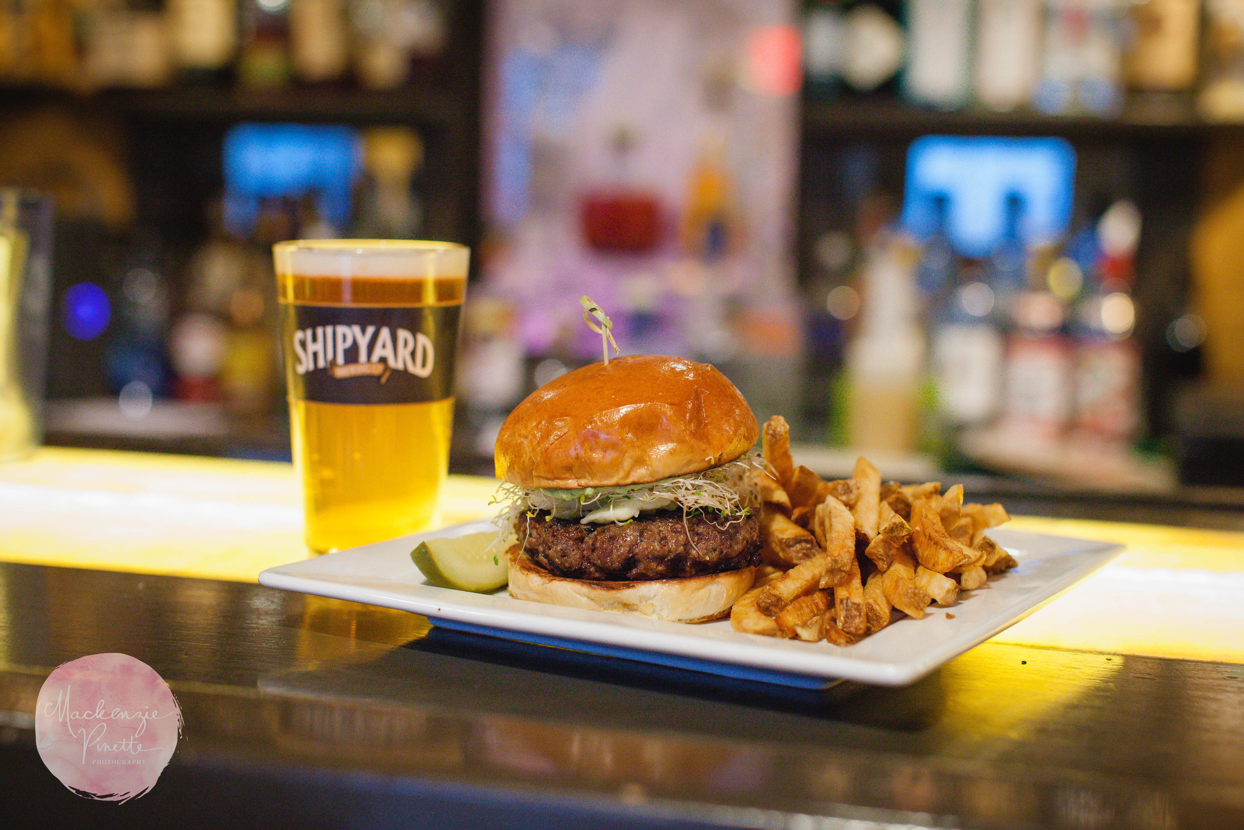 Enjoy 1/2 OFF Select Burgers EVERY Saturday and Sunday 11:30-3pm