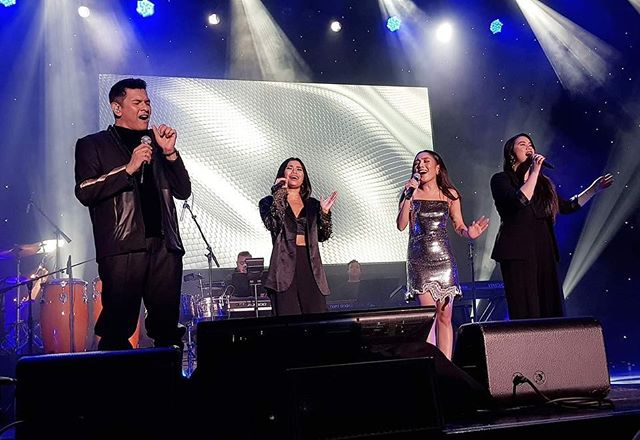 "Here's one of the moments in the show I'll never forget 🎶 ""How Did You Know""  I grew up listening to Gary V in the car with my parents and now to be sharing the stage with him is something way beyond my imagination.  Thank you Lord for this wonderful opportunity that could have only been brought about through Your divine appointments."