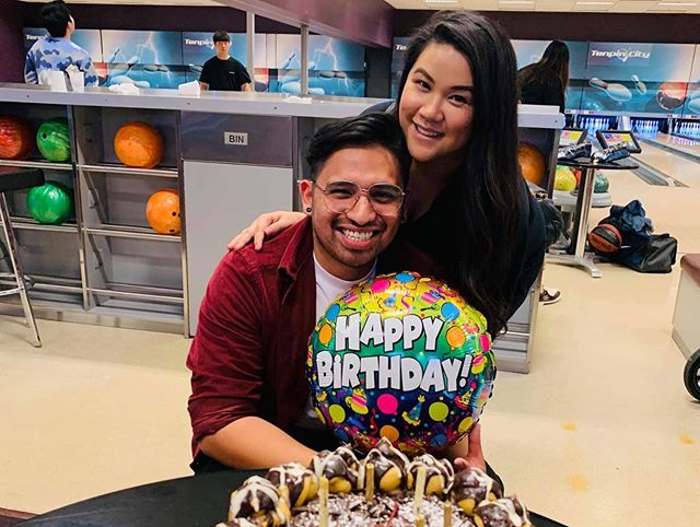 This past weekend was very special. We got to spend Miguel's birthday twice (Australian time/California Time) and he was able to finally meet the Ramos' side of the family. My heart is SO full! 😆  Happy Birthday Babe. 28 looks grrrr8 on you!