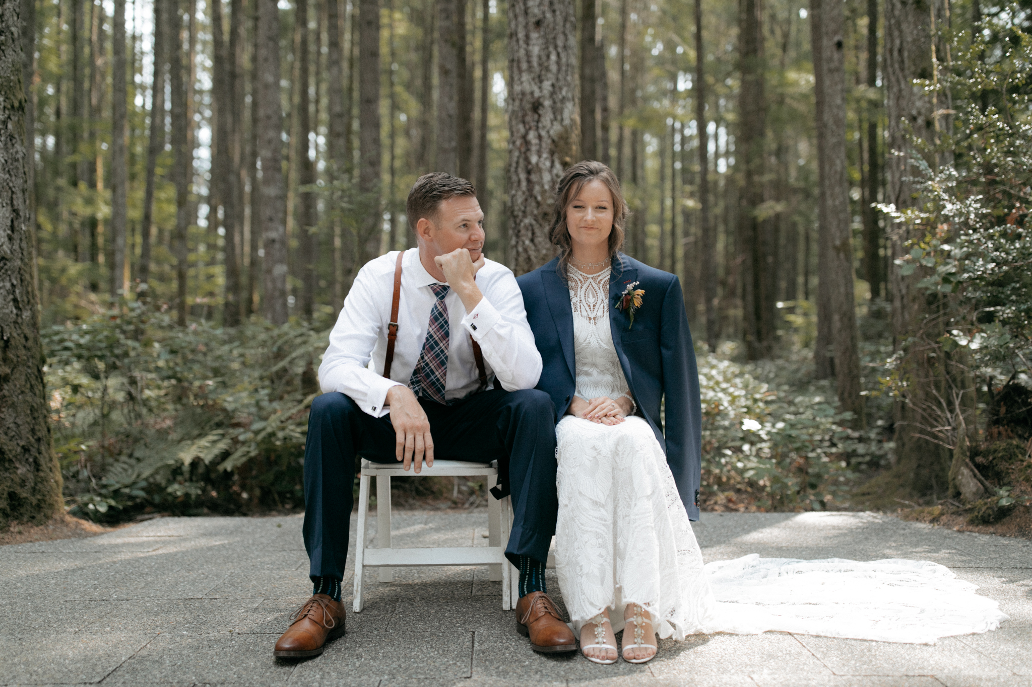 bremerton wedding in the woods