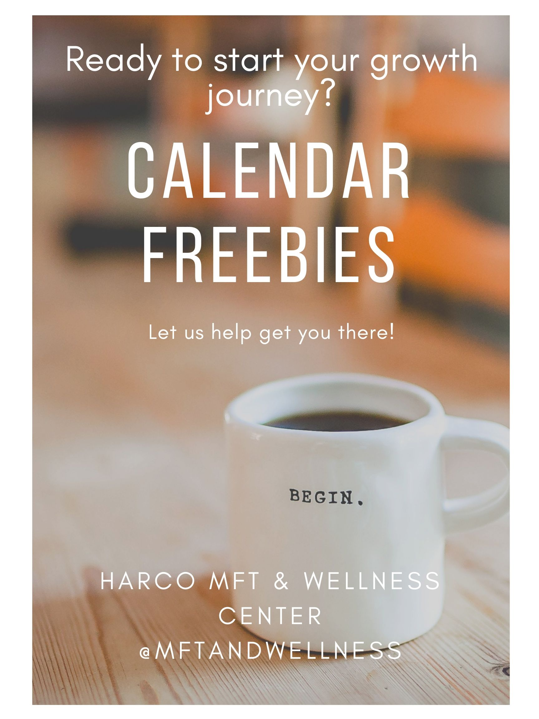 Three FREE calendars for you! - Do you need a fresh start with your relationships? Do the words self-care or burnout mean anything to you? Do you want to cultivate a mindfulness practice?…If so, we've created THREE FREEBIES just for you.Jump start your health with our quick and easy prompts tackling self-care, mindfulness, and healthy relationships. Three calendars with tons of strategies! All for FREE.